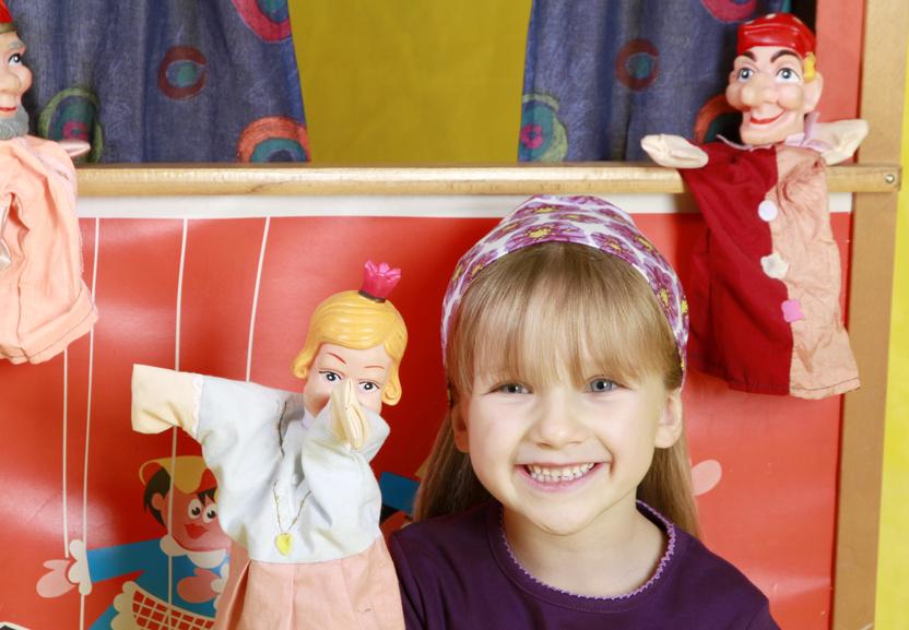 Fotolia Kaperletheater S1 Spielzeug Handpuppen und Kasperletheater