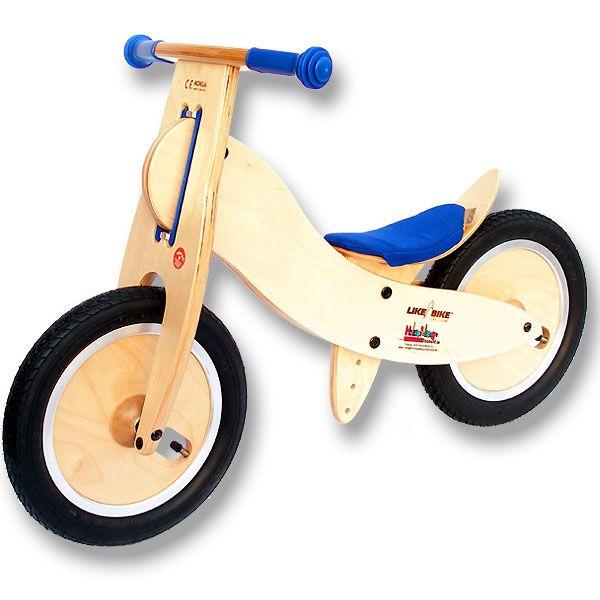Holzlaufrad von Like a bike