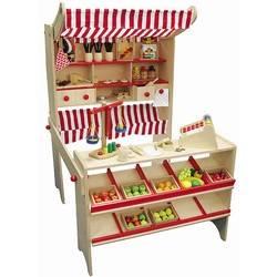 kinder kaufladen aus holz und zubeh r im shop online kaufen. Black Bedroom Furniture Sets. Home Design Ideas